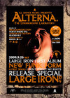 Alterna.(= THE UNDERGROUND LABORATORY =) 2009.9.26 (土) at club Jade(札幌)