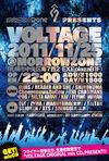 VOLTAGE() 2011.11.25 (金)atmorrowzone(札幌)