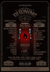 Burning 12(NEW WORLD 2011~2012) 2011.12.29 (木) at DUCE (札幌)