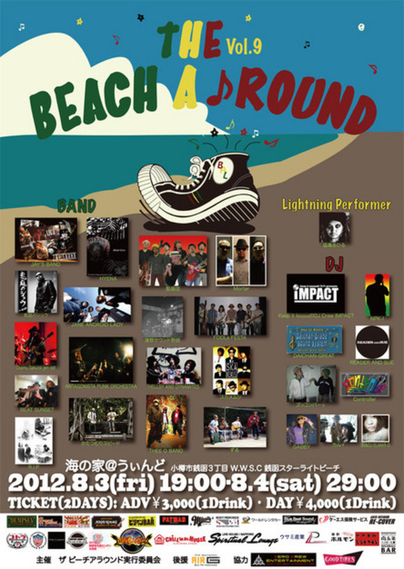 the Beach A♪Round
