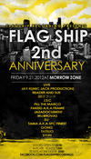 FlagShip Recordings 2nd Anniversary Party(= READER & SUE LIVE =) 2012.9.21 (金) at morrowzone(札幌)