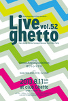 LiveGhetto Vol.52(= READER AND SUE DJ SET =) 2013.8.11 (日) at club Ghetto(札幌)