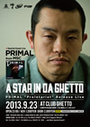 A STAR IN DA GHETTO vol.8(= READER AND SUE LIVE =) 2013.9.23 (月) at club Ghetto(札幌)