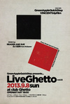 LiveGhetto Vol.53(= READER AND SUE DJ SET =) 2013.9. 8 (日) at club Ghetto(札幌)