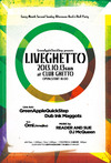 LiveGhetto Vol.54(= READER AND SUE DJ SET =) 2013.10.13 (日) at club Ghetto(札幌)