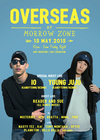 OVERSEAS(= READER AND SUE LIVE =) 2015.5.15 (金) at morrowzone(札幌)